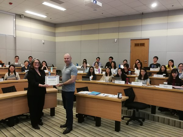 HONG KONG – Brett Shadbolt, CEO of Censere Group Visits The Hong Kong University of Science and Technology