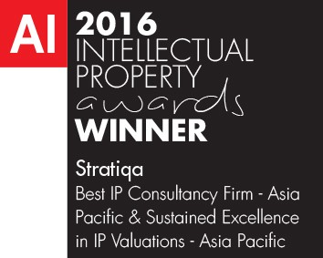 Stratiqa wins IP Valuation Award!